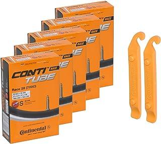 Continental(コンチネンタル) チューブ Race 28(700C) 20/25C 622/630 5本セット+タイヤレバー2本セット [並行輸入品]