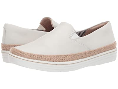 Clarks Marie Pearl (White Leather) Women