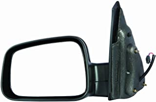Parts Link # OE:25848555 Passenger Side Left Rear View Mirror Replacement for Chevrolet HHR 2006-11 Satin Chrome GM1320369