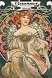 Close Up Alfons Mucha Poster Jugendstil F. Champenois 1897