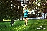 Hunde Joggingleine/Laufleine mit verstellbarem Hüftgurt   Leine zum handfreien Laufen/Fahrrad fahren   elastische Bungee Leine mit Reflektoren für Hunde bis 60kg   zusätzliche Tasche für Handy und Schlüssel etc.   Nylon   schwarz   super zum Laufen, Joggen, Wandern und Gassi gehen – PETLOVERZ® - 5