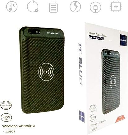 Case Capa Carregadora Sem Fio 22601 It-Blue Iphone 6 e 6S Bateria