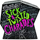 Wonder Forge Sick & Twisted Charades Party Game for Adults Age 18 & Up - 1,000 Outrageous, Salacious, Hilarious Words to act Out!