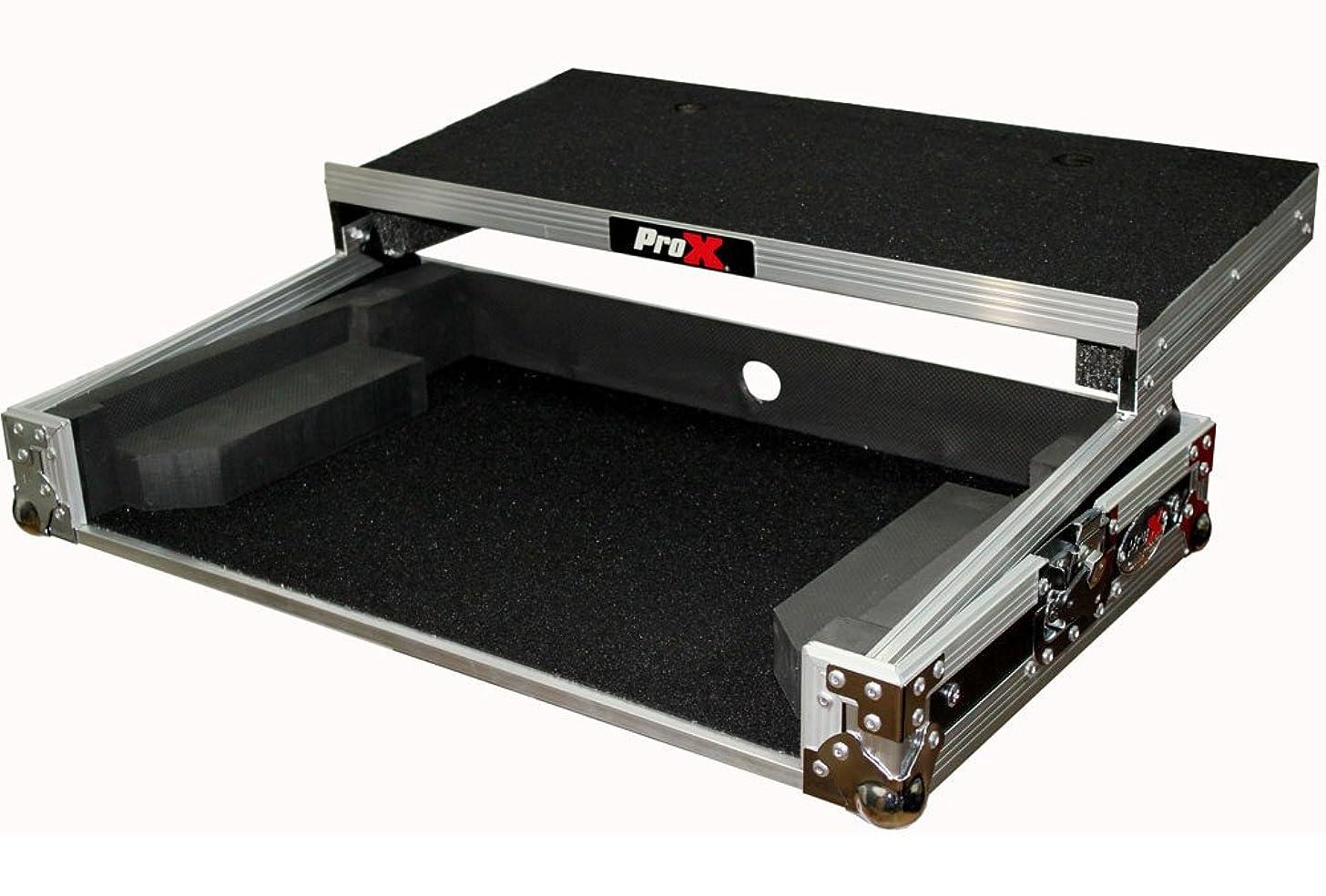 Pro-X- Numark MixTrack Pro 3 Flight Case w/ Shelf