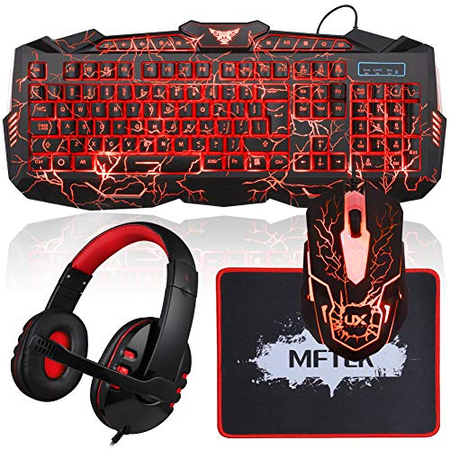 bce165bfc14 Auto changeable 7 colors cool fashion crack pattern gaming mouse, high  quality stereo gaming ...