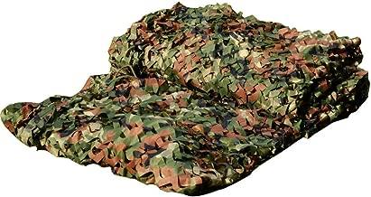 LOOGU Custom Woodland Camo Netting Camping Military Hunting Camouflage Net 6.5 x 10ft, 6.5 x 26ft, 10 x 10ft, 10 x 13ft, 10 x 16.5ft, 13 x 16.5ft, 16.5 x 20ft, 20 x 20ft