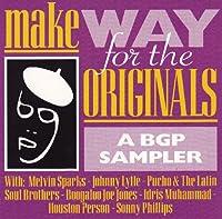 Make Way for the Originals