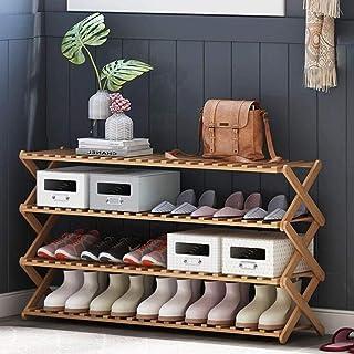 XWZH Cabinet de Chaussures Anti-poussière Porte-Chaussures en Bois, Banc de Rangement □ Placard, Salle de Bain, Cuisine, O...