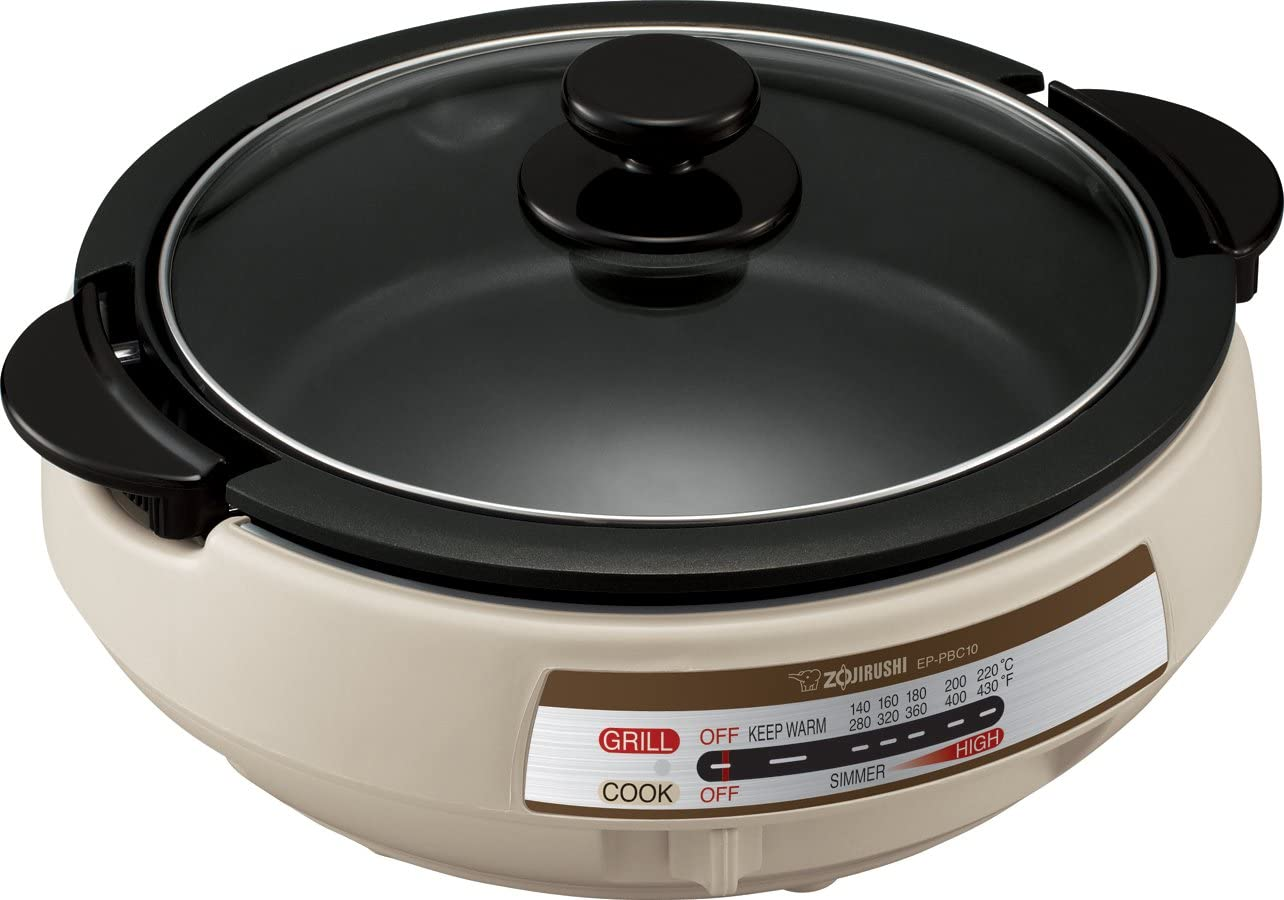 Zojirushi EP-PBC10 Chicago Mall Max 47% OFF Gourmet d'Expert Electric Skillet