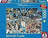 Schmidt Spiele Puzzle 59398 Thomas Kinkade Renato Casaro, Hollywood, 1.000 Teile Puzzle