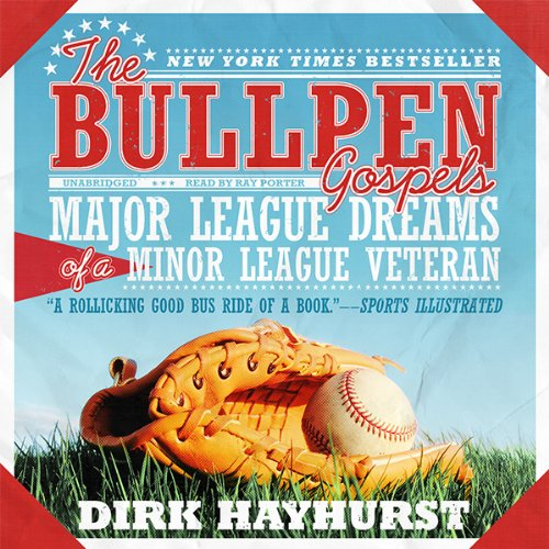 The Bullpen Gospels audiobook cover art