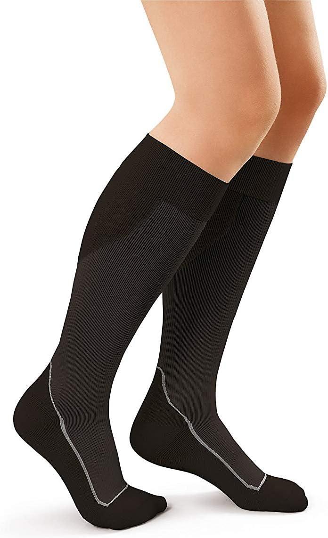 JOBST Sport Knee High 20-30 mmHg Cool Topics Indianapolis Mall on TV B Socks Compression Black