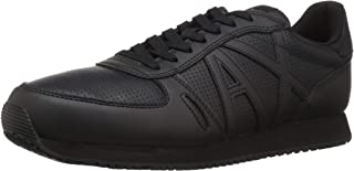 A|X Armani Exchange Men's Lace Up Sneaker with Logo