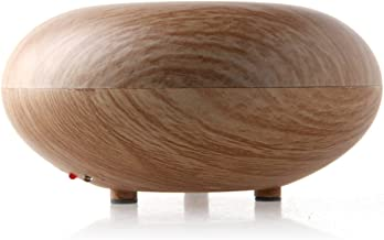 BioFinest 2019 Wood Grain Aroma Essential Oil Diffuser - 7 Color Led Lights, Waterless Auto Shut-Off, Ultrasonic Humidifie...