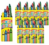 Libetui 10 Sets Wachmalstifte 4 Farben Buntstifte Malsets für Kinder Gastgeschenke Mitgebsel für Kinderparty Geburtstag