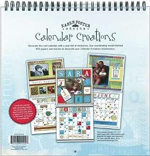 scrapbook calendar kit