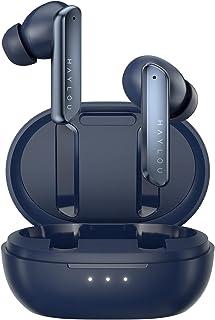 Bluetooth5.2 ワイヤレスイヤホンbluetoothイヤホンQCC3040チップ/ Knowles社製バランスド/aptX Adaptiveコーデック/ CVC8.0ノイズキャンセリンク/4-mic搭載通話/20時間連続再生 HiFi...