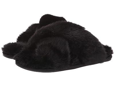 Taryn Rose Helen (Black Faux Fur) Women