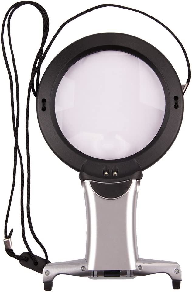 LED Lighted Long-awaited Reading Magnifier 2X 2 Dallas Mall with Combo 6X H
