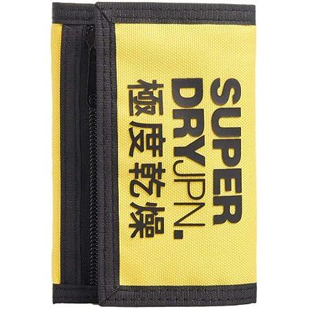 Superdry Dreifach gefaltete Geldbörse, nautisches Gelb