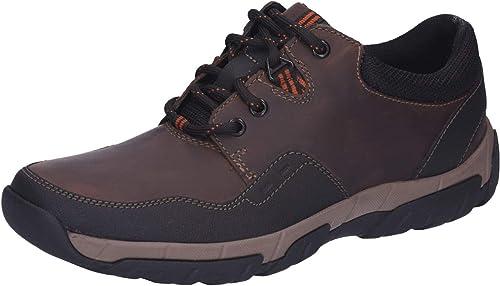 Clarks 26121923, Chaussures de Ville Ville à Lacets pour Homme  sortie en ligne