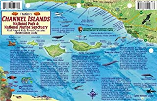 Channel Islands National Park Map & Kelp Forest Creatures Guide Franko Maps Waterproof Fish Card