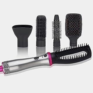 Arricciacapelli Automatico Hair Curler,Hot Air Brush Set, One Step Hair Dryer Styler Comb Set, Straightening Curling Dryer Volumizer Multi-Functional Hair Style Brush Comb ZLSANVD