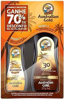 Promopack Fps 30 237ml com Acerador 125ml (70%), Australian Gold