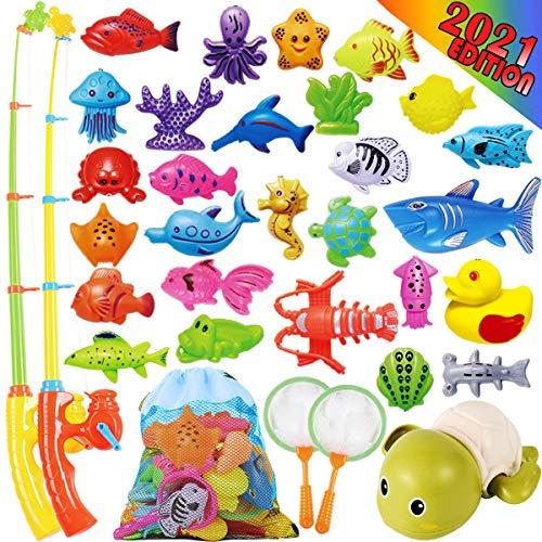 Cheffun Fishing Water Pool Toys for Kids - Bath...
