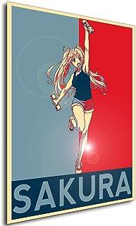 Instabuy Poster - Propaganda - How Heavy Are The Dumbbells You Lift - Sakura Hibiki A4 30x21