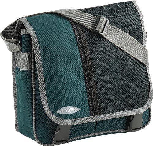 Fladen Outdoor - Borsa a tracolla 27 x 31 x 12 cm, colore: Verde