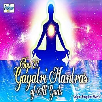 Top 27 Gayatri Mantras of All Gods