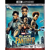 Black Panther 4K-Ultra [Blu-ray]