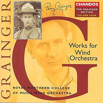 Grainger: Grainger Edition, Vol.  4: Works for Wind Orchestra