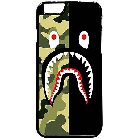 BP SHARK CAMO RED iPhone 6//6S 7 8 Plus X//XS XR 11 12 Pro Max Mini Case Cover