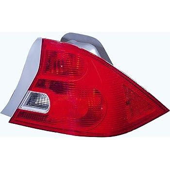 Driver Side with Install kit 100W Halogen -Chrome Larson Electronics 1015P9IXD4M 6 inch 2005 Honda Civic Coupe Post Mount Spotlight
