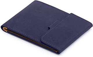 Leather Coin Fold Wallet
