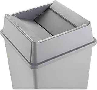 RCP2664GRAY - Untouchable Square Swing Top Lid