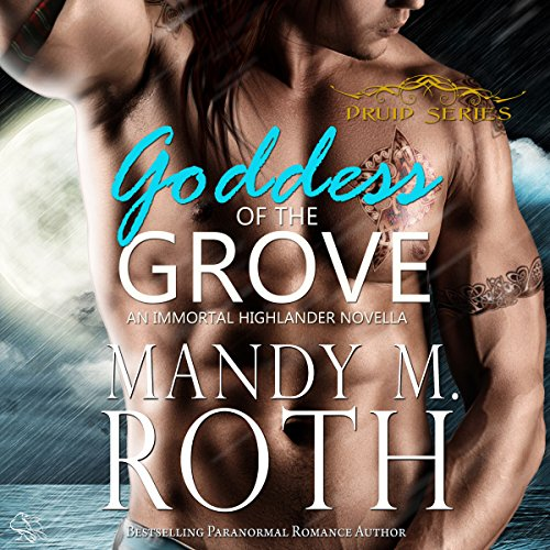 Goddess of the Grove audiobook cover art