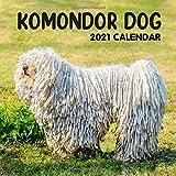 Komondor Dog 2021 Calendar: 2021 Calendar- 8.5 x 8.5,2021 Monthly Calendar Perfect for School, Office & Home Planning and Organizing