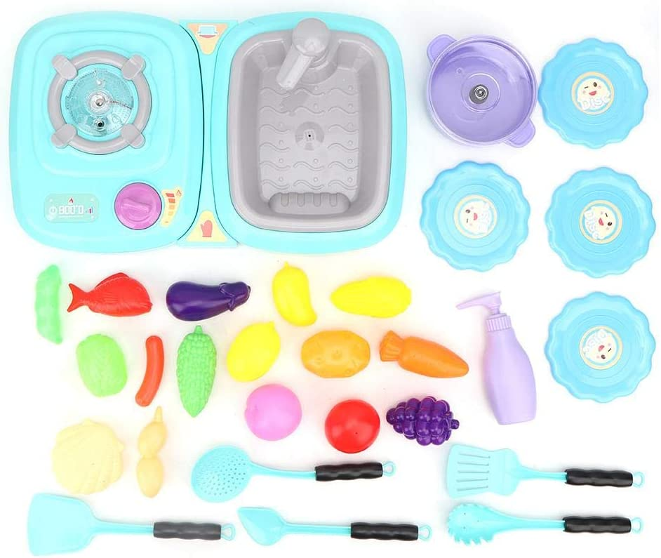 Kid Pretend Excellent Dealing full price reduction Play Toy Simulation Quality Sink Materi Plastic