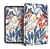Funda para Kindle Paperwhite,Compatible con Kindle Paperwhite 4 Carcasa Trasera para Kindel Paperwhite 2019 Auto Sleep/Wake Smart Cover Holly Fruit Branch Impresa, para No.Pq94Wif