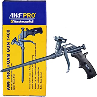 AWF Pro Foam Gun, Easy to Clean PTFE Non-Stick Coated Body