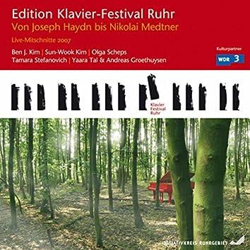 From Joseph Haydn to Nikolai Medtner (Edition Ruhr Piano Festival, Vol. 17)