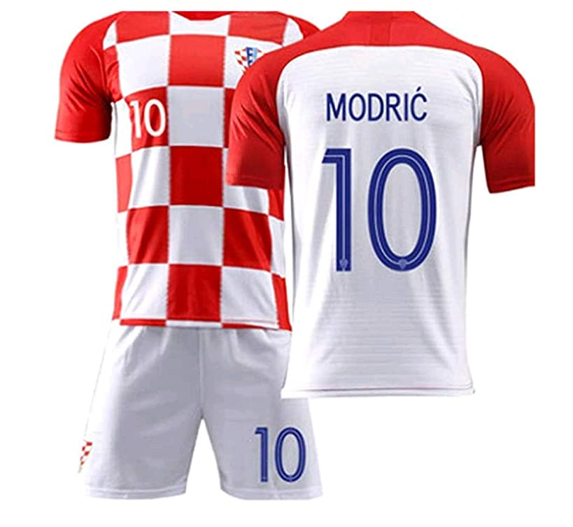 LISIMKE Croatia Home Luka Modric #10 Jersey 2018/2019 Men's Soccer