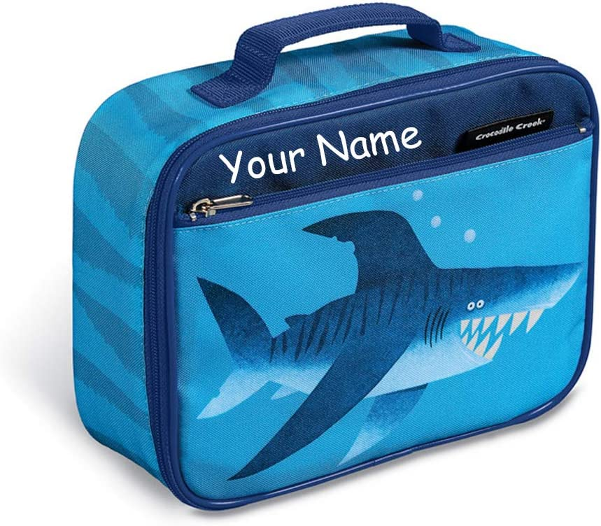Personalized Crocodile Creek Smiling Shark To Bag 55% OFF Lunch favorite Lunchbox
