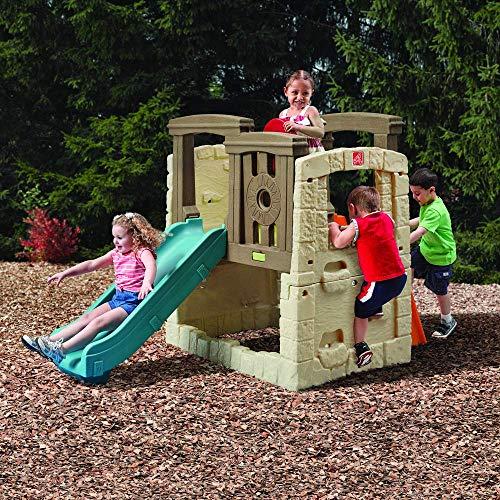 Step2 Naturally Playful Woodland Climber II | Kids Activity Climber Outdoor Playset