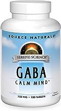 Source Naturals Serene Science GABA 750 mg Calm Mind - 180 Tablets