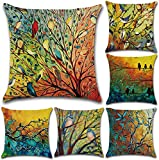 Tosnail 6 Pack Decorative Throw...