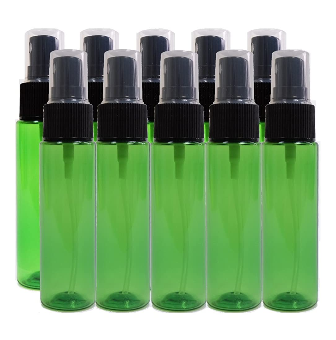 同封するご注意実現可能性ease 保存容器 スプレータイプ プラスチック 緑色 30ml×10本